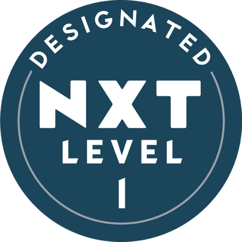 Designated NX Level badge